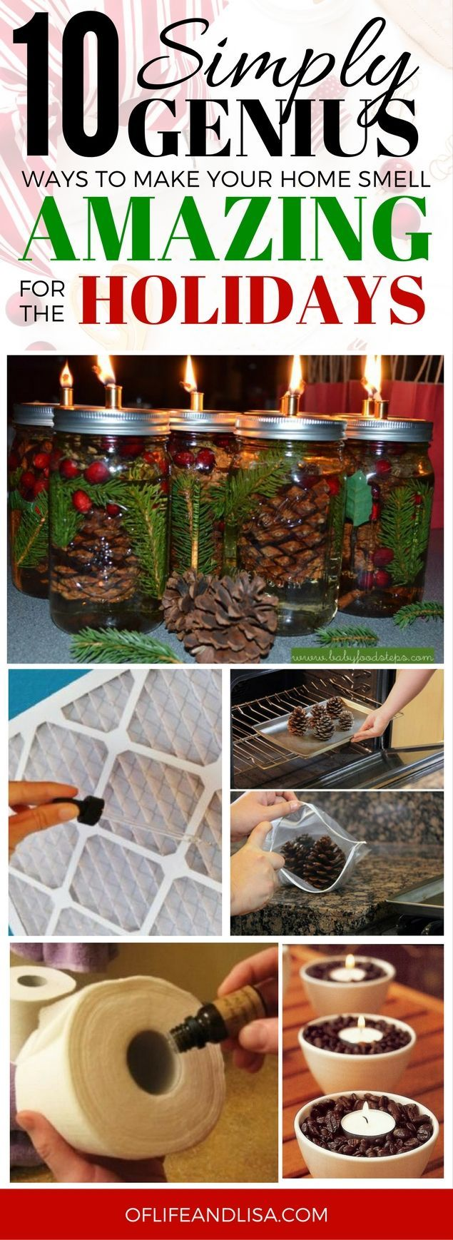 Amazing smell hacks for the holidays!