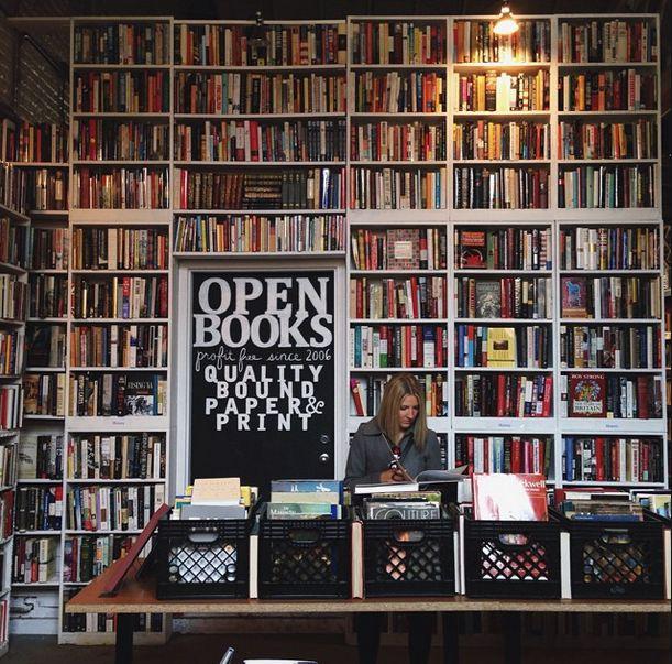 Open Books in Pilsen Chicago, IL