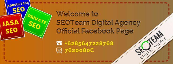 SEOTeam Digital Agency Merupakan Penyedia layanan yang bergerak dalam bidang Jasa SEO, Private SEO dan Konsultasi SEO.