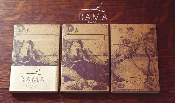 Libretas de Bolsillo R.A.M.A 50 HOJAS 14x9cm $1.500