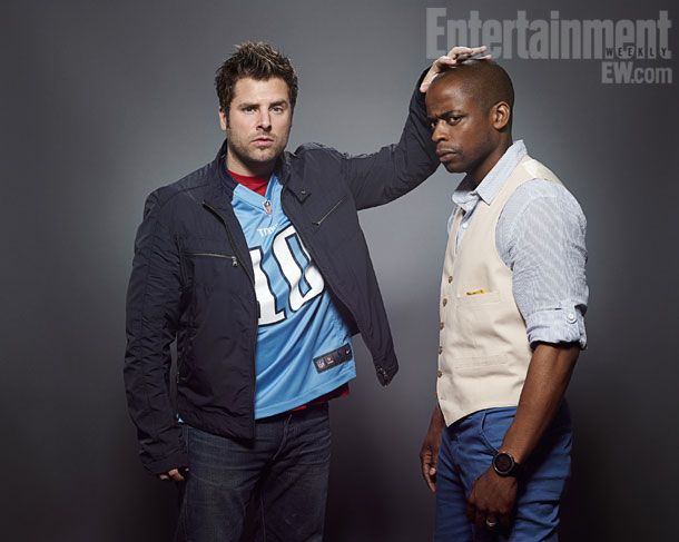Shawn and Gus! Best. Team. Ever. <3