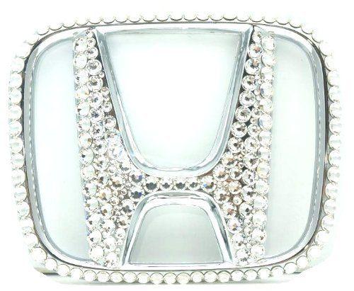 Grandioso SEHM0007 Bling Pros Custom Handmade Honda Emblem with Swarovski Crystals, http://www.amazon.com/dp/B00EA8CHJ0/ref=cm_sw_r_pi_awdm_wCHntb0XWD06P