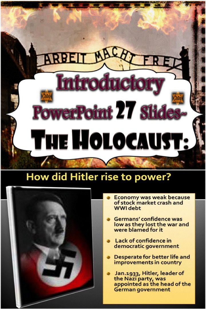 My personal thoughts about the holocaust