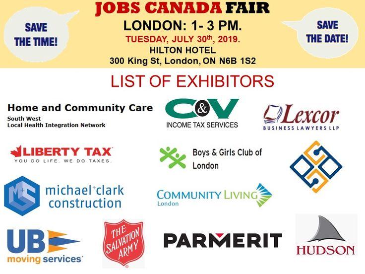 List of Hiring Companies for LondonJobfair July 30th