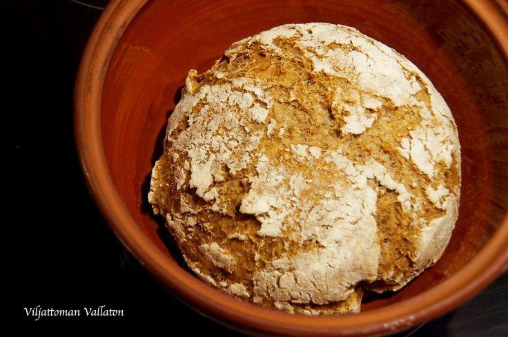 Viljattoman Vallaton: Gluteeniton pataleipä