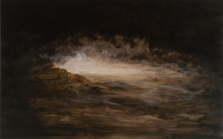 Michael Biberstein - Works - Landscape in Oil, 2002