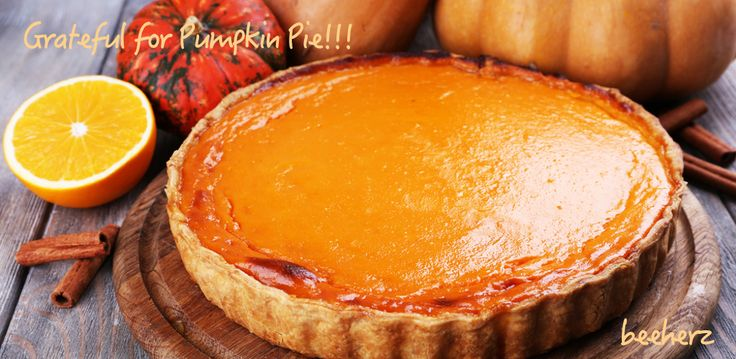 I'm generally grateful for any pie I haven't baked (aha). Yet, I think PUMPKIN usually smells better than it tastes. So, either I have to add fresh whipped cream or #HaagenDazs or #Graeters Vanilla (from #Cincinnati my hometown--when it's available. What's your favorite #Thanksgiving desert?