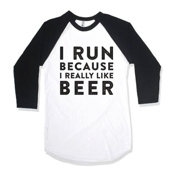 I #Run Because I Really Like Beer by AwesomeBestFriendsTs on Etsy