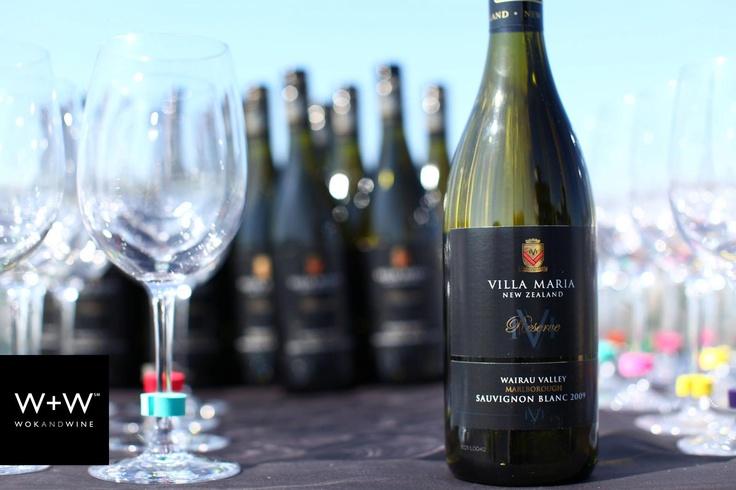 Wok+Wine with Villa Maria - Brooklyn, May 2012