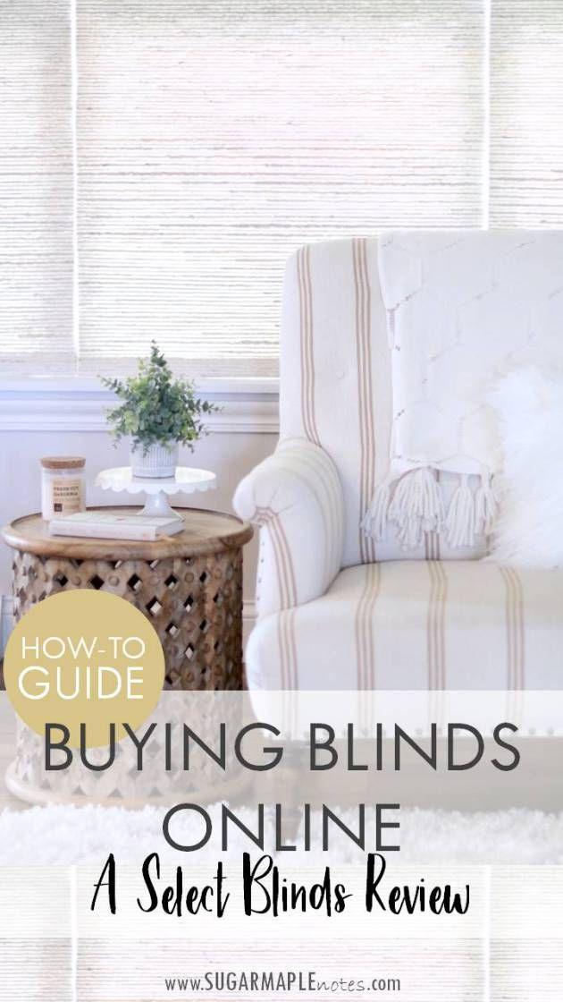buy blinds online hunter douglas howto guide buying blinds online select review designer series woven mom blogger roundup pinterest