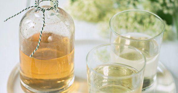 Création gourmande: un sirop de fleurs de sureau home made!
