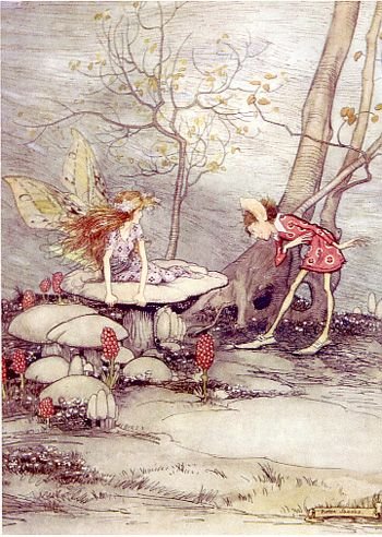vintage fairy art - Helen Jacobs