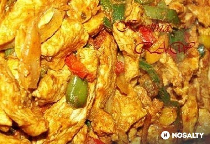 Grillen sült csirke indiai fűszerekkel