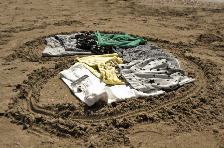 See the sky and feel the sand wearing these rocking & colourful Love.God.Fashion shorts!!