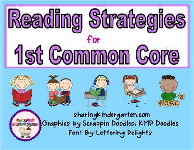 Visual reading strategy cards... like daily 5 and CAFE