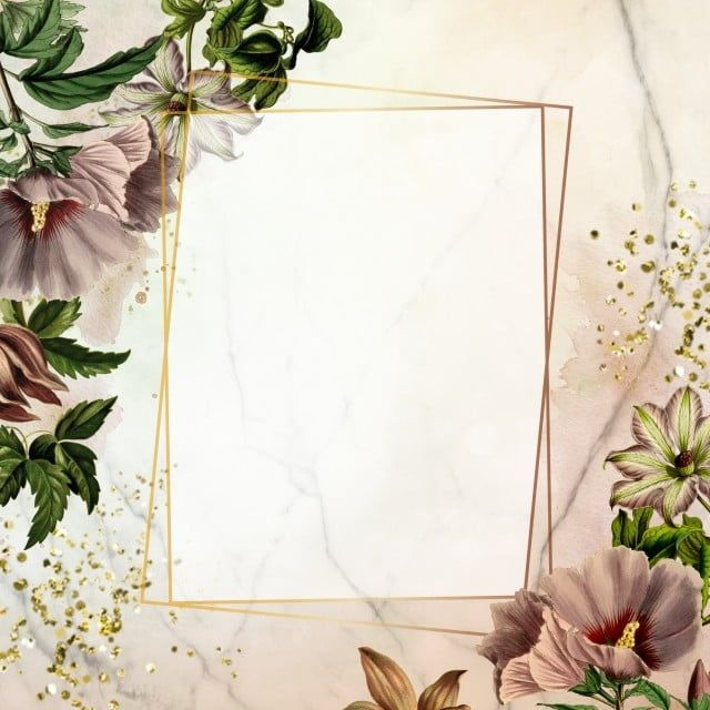 إطار هندسي ذهبي إطار ذهبي إطار هندسي Floralframe Png وملف Psd للتحميل مجانا Photo Collage Template Flower Frame Botanical Decor