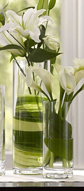 spring decorating ideas centerpieces clear glass vases glass rh pinterest ch