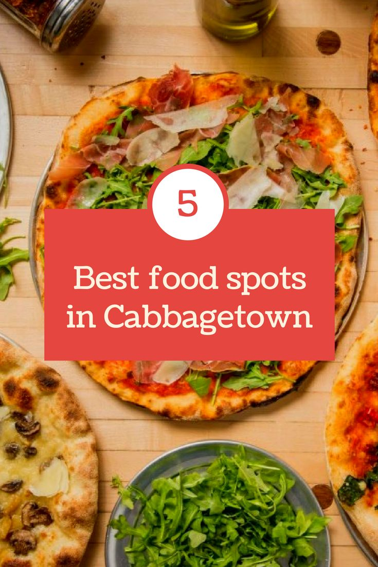 My TOP 5 favourite places to dine out in Toronto's Cabbagetown.