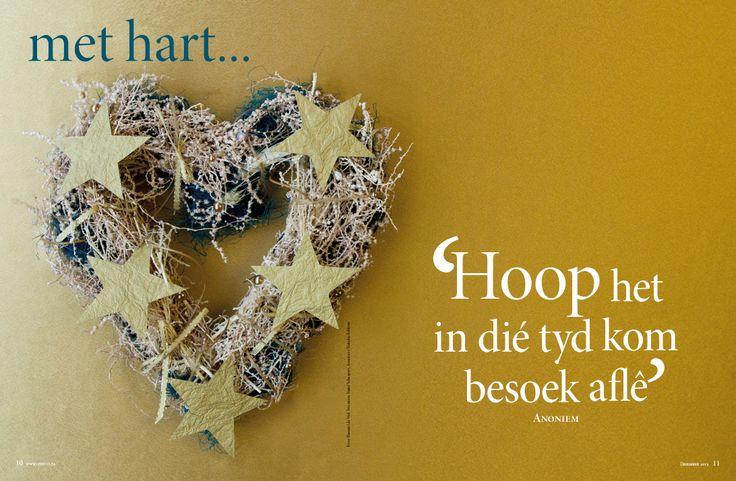 Goue Kersfees/ Gold Christmas. Fotograaf: Hanneri de Wet. www.leef.co.za