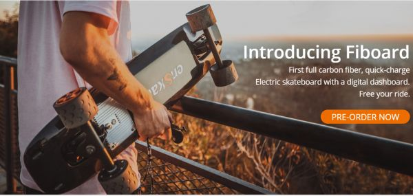 Senmer News Wire: enSkate Launches The First Full Carbon Fiber Electric Skateboard from senmer.com