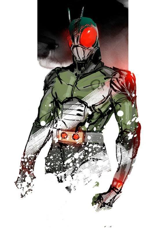 Kamen Rider - artist?