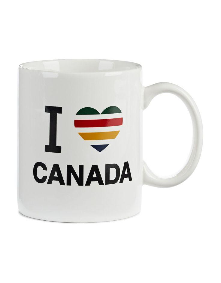HBC Collections | I Heart Canada Mug | Hudson's Bay