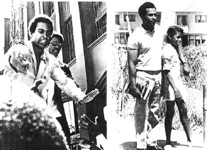 Minister of Defense, Huey P. Newton, Back on the Streets With The People