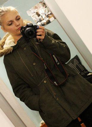 Kup mój przedmiot na #vintedpl http://www.vinted.pl/damska-odziez/kurtki/15352019-kurtka-zimowa-khaki-4042