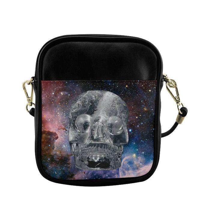 Crystal Skull Sling Bag (Model 1627)