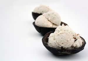 Coconut Ice Cream (made with Coconut Magic cocnut oil & other healthy delights...)  www.coconutmagic.com