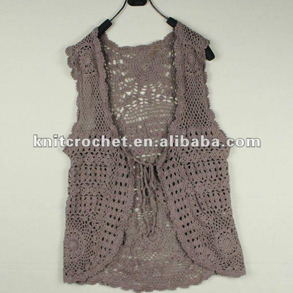 Patrones de crochet para chalecos circulares el ltimo for Disenos de chalecos
