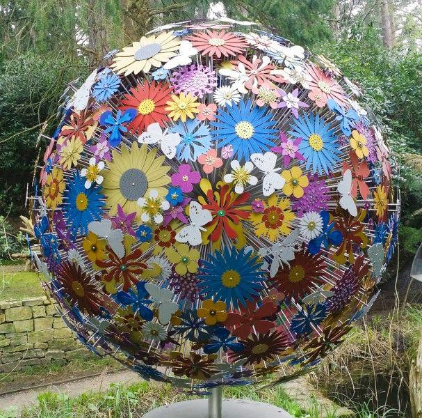 sculpture - pollination sphere - ruth moilliet - sculptor