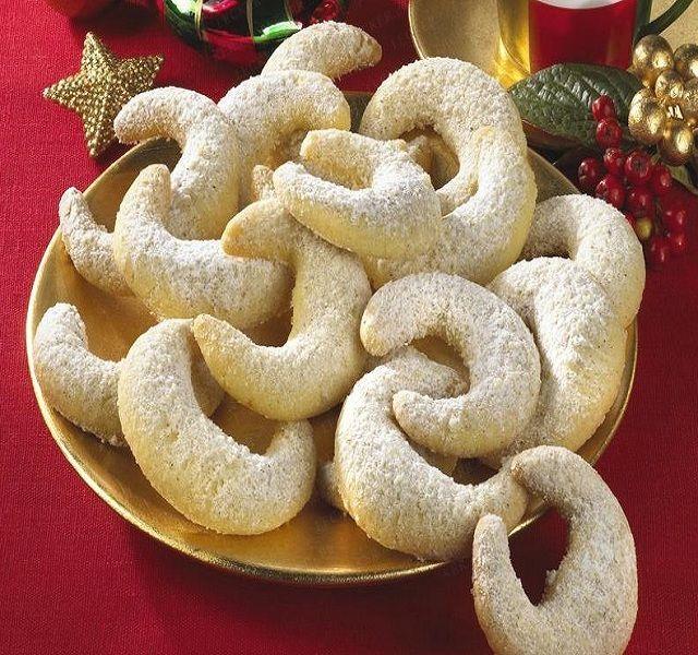 Receita de Biscoitos de Baunilha (Áustria) | Doces Regionais