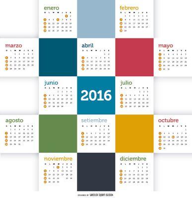 Calendário 2016 Fall