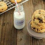 Cookies al cocco, zenzero e cioccolato