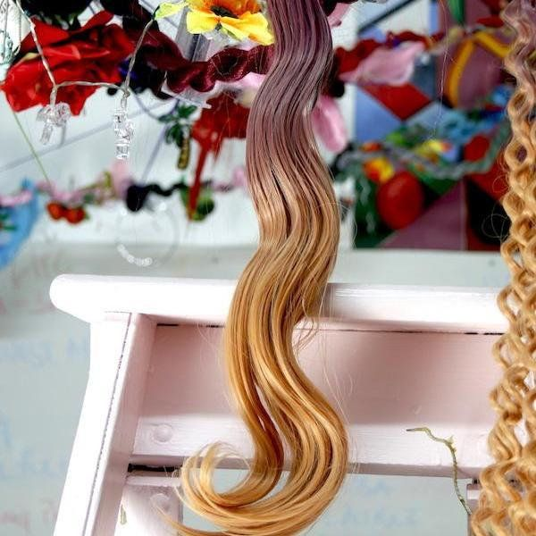 Pink Candy Ombre – Body Wave | Synthetic Weft Hair