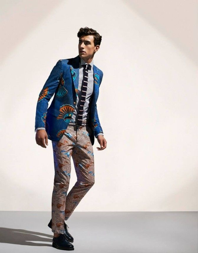 STELLA JEAN'S MENSWEAR SPRING SUMMER 2015 COLLECTION