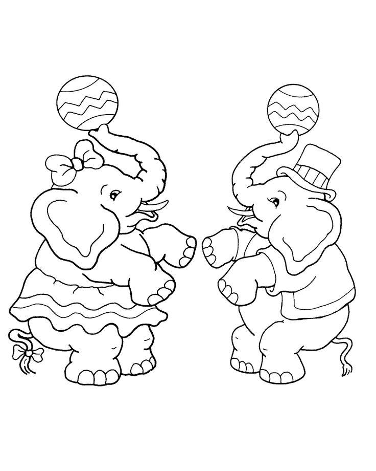 48 best Coloriages de cirque images on Pinterest Coloring pages - new circus coloring pages for preschool