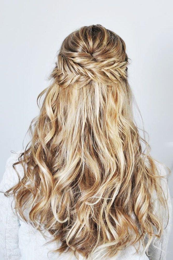 39 Adorable Braided Wedding Hair Ideas Wedding Forward Braided Hairstyles For Wedding Hair Styles Fishtail Braid Wedding