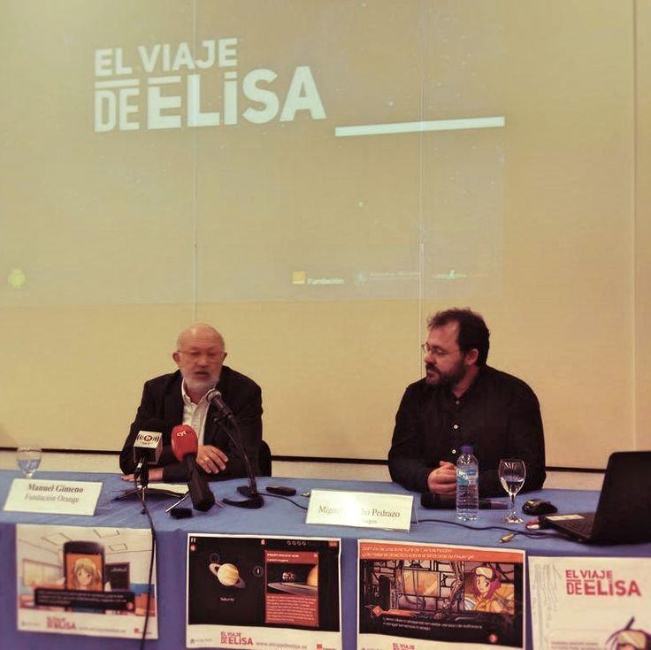 Presentación de Manuel Gimeno, Fundación Orange, de El Viaje de Elisa, #videojuego sobre #Asperger. #Autismo #tea