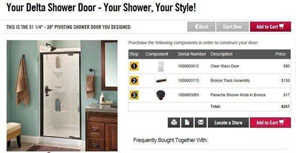Die Installation einer Dusche Tür (mit Bildern) Duschtür