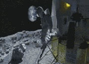 What to do if you lost key on the moon? ! key? key? O  M  G …..