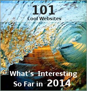 101 best websites of 2014! On this list you'll find only the coolest websites on the Internet! Sit back, relax, and enjoy the best cool websites on the web!
