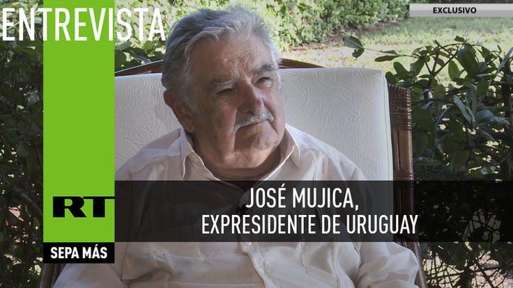 """Entrevista con José Mujica: """"Es difícil construir edificios socialistas con albañiles capitalistas""""- Videos de RT"""
