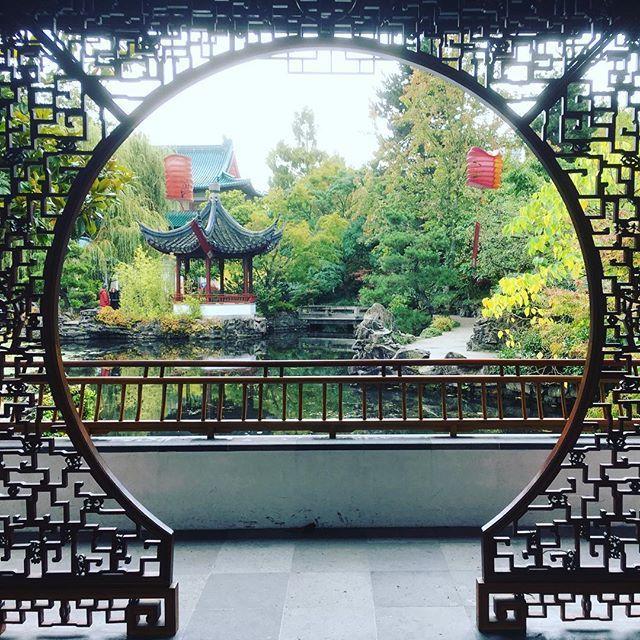 Sun Yat Sen Gardens, Heaven's Gate, Vancouver Chinatown by soomin kang