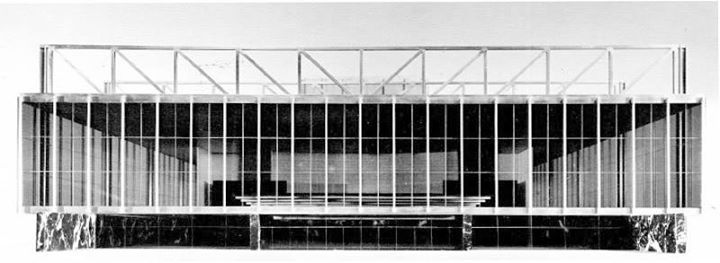 Mies van der Rohe | National Theater | Mannheim, Germany |1953(720×263)