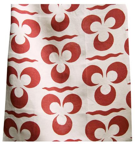 Good Look Room - Fabrics - Collections - Arjumand - The Imperial - TRIS BLOOM WARM HEAVY LINEN
