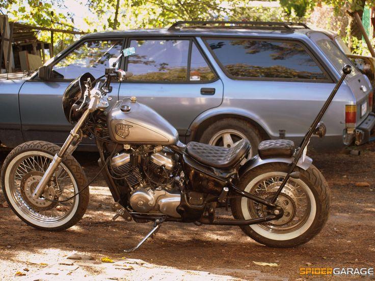 Honda vt600 bobber
