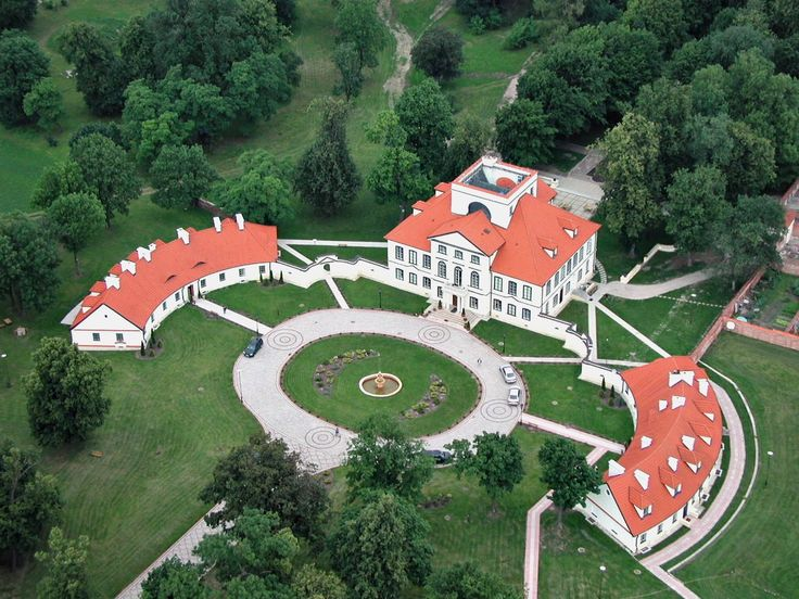 Palace Ossolinskich, Sterdyn, Mazowieckie province, Poland.