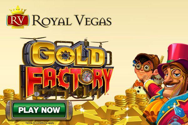 Gold Factory, coolest game! #casino #online entertainment #Royal Vegas Casino